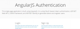 AngularJS Authentication