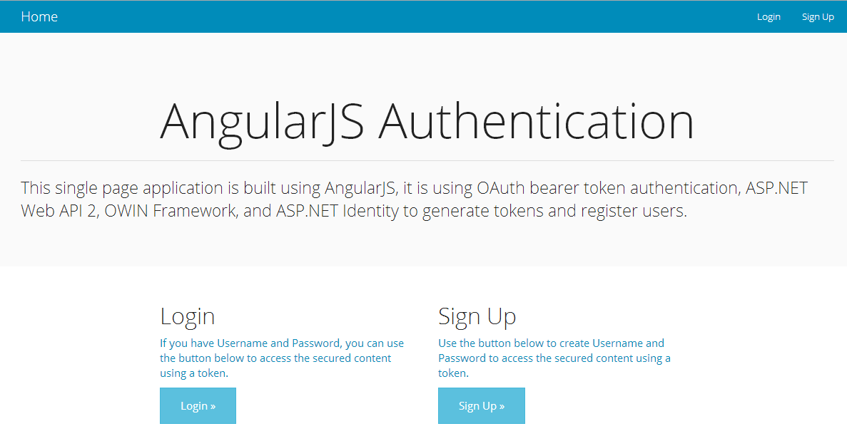 Token Based Authentication using ASP.NET Web API 2, Owin, and Identity
