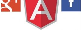 AngularJs External Logins