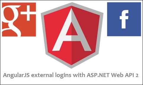 AngularJs External Logins