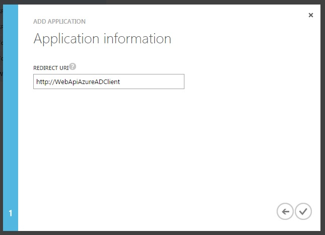 Add Client To Azure AD