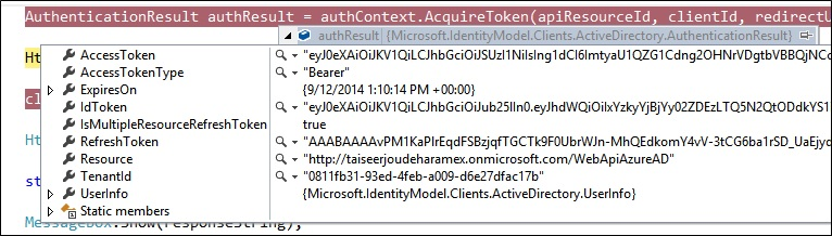 Azure AD Access Token