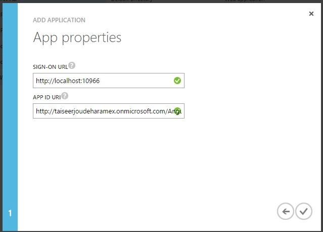 Azure App Properties