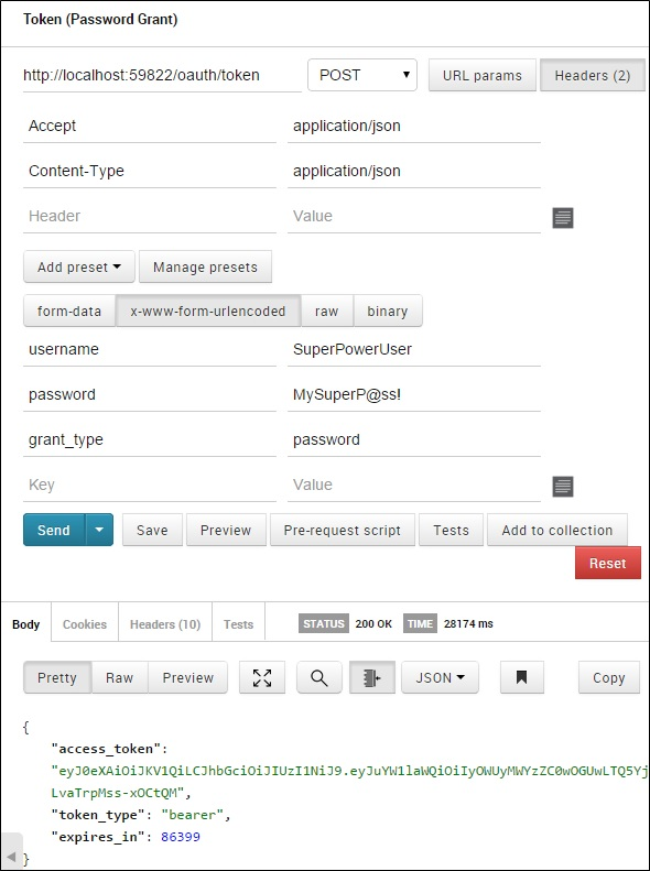 Implement OAuth JSON Web Tokens Authentication in ASP NET Web API