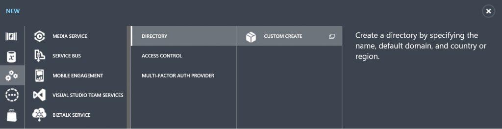 Azure AD B2C Directory