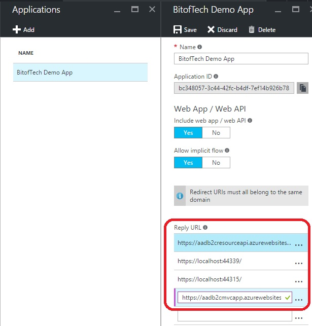 Integrate Azure AD B2C with ASP NET MVC Web App - Part 3