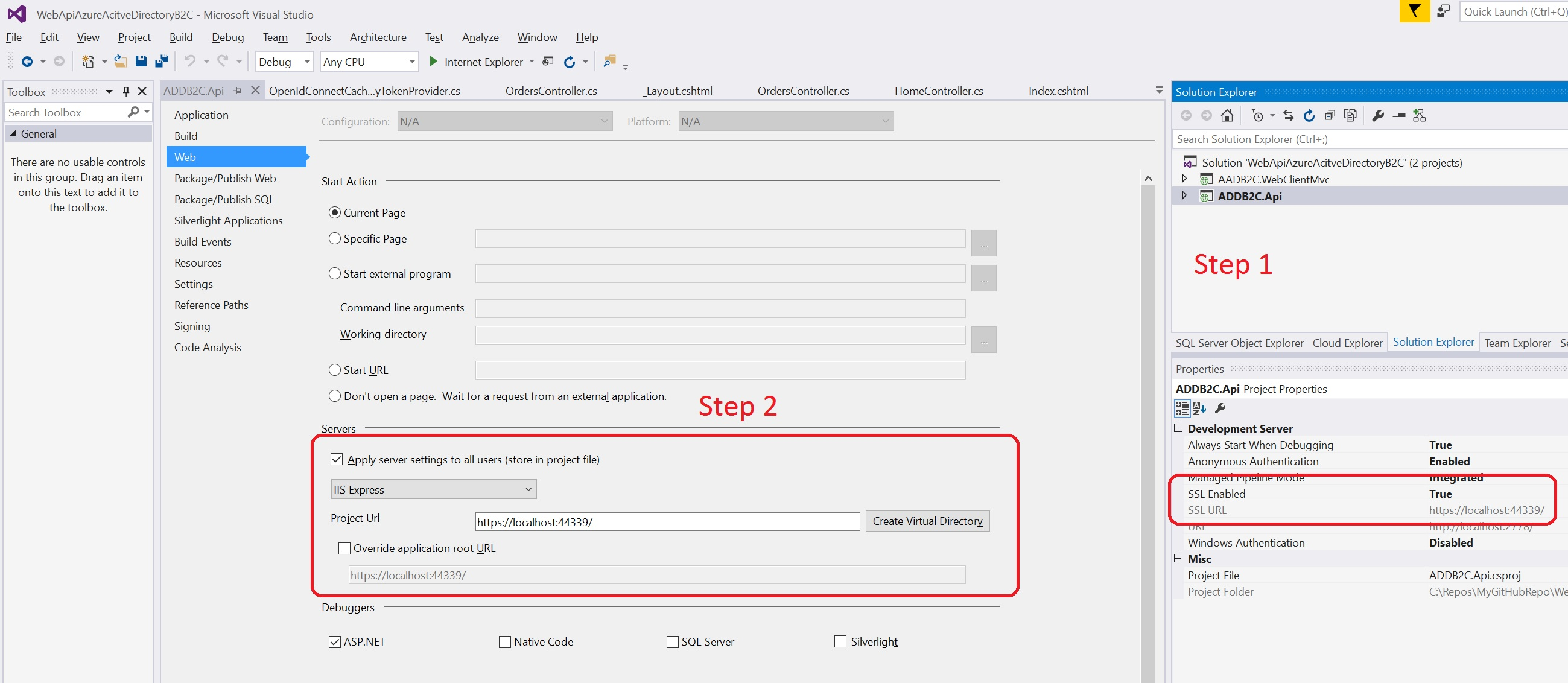 Azure Active Directory B2C Overview and Policies Management